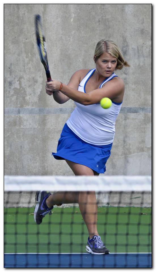 Mount women's tennis team posts first HCAC win of season