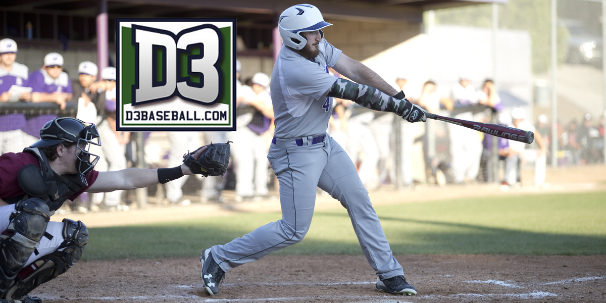 Jake Raynaud selected on d3baseball.com Team of the Week