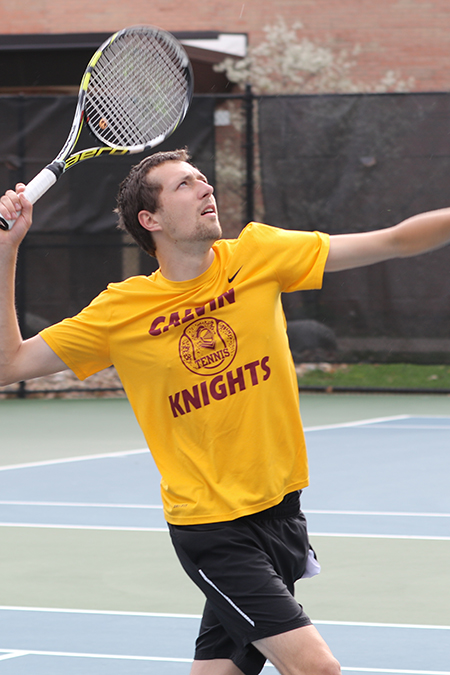 Matt VanWinkle, Calvin, Men's Tennis Athlete of the Week 4/24/17