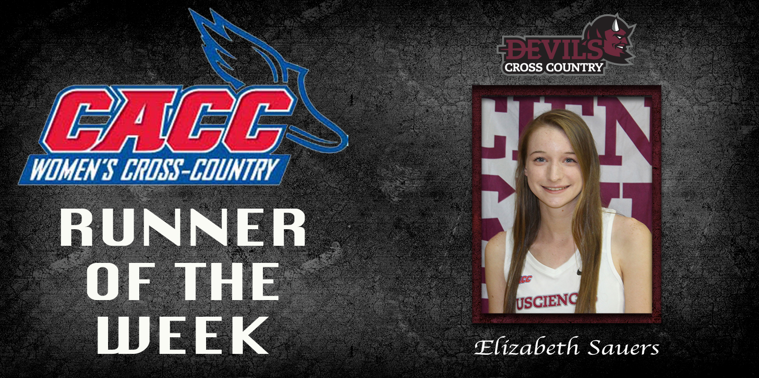 Second Win of Season Leads to Sauers' Second CACC Runner of the Week Award