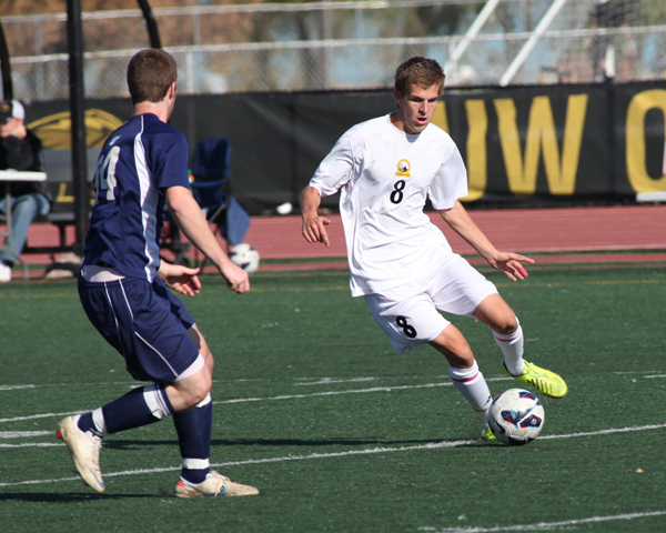The Titans' Hans Becker scored two goals and assisted on another