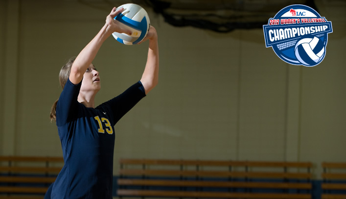 Volleyball Takes Down Nationally-Ranked Warhawks in WIAC Semifinal