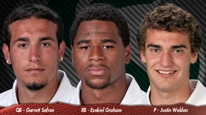SAFRON, GRAHAM AND WELDON NAMED TO PRESEASON WATCH LISTS