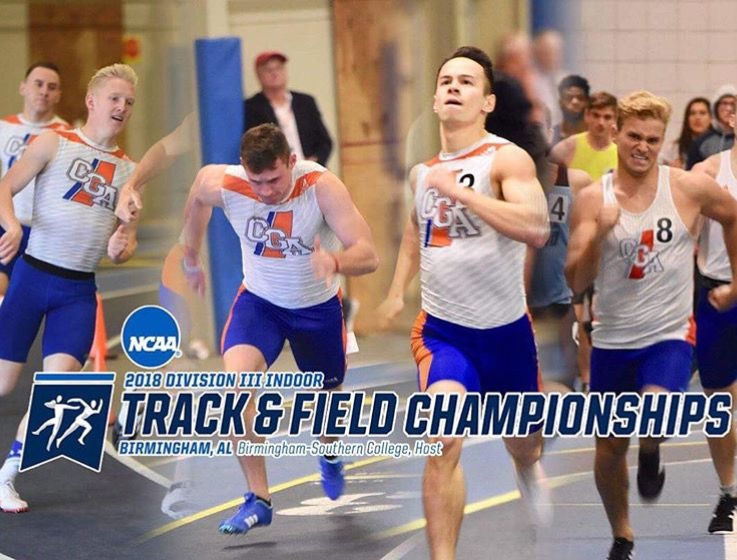 Men's 4x400 to Compete at NCAA Championship