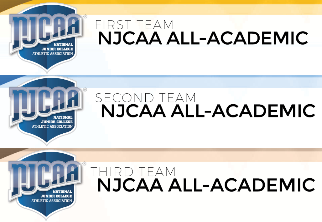 Four Selected On NJCAA All-Academic Team
