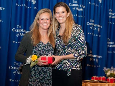 Swarthout honored with Mary J. O'Dwyer Flynn Memorial Award