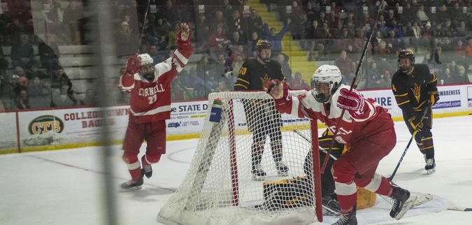 Cornell sails past No. 13 Arizona State