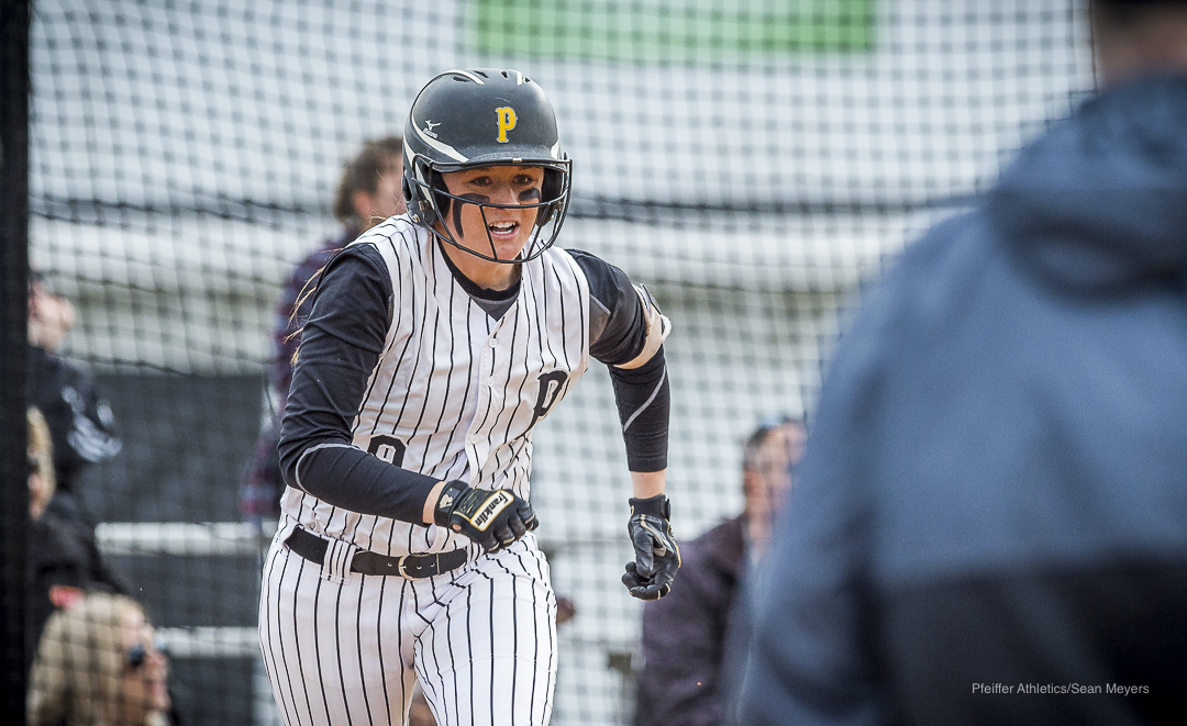 Pfeiffer Softball Takes Two Big Wins Over Agnes Scott