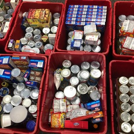 Foresters Participate in 6th Annual Midwest Conference Canned Food Challenge