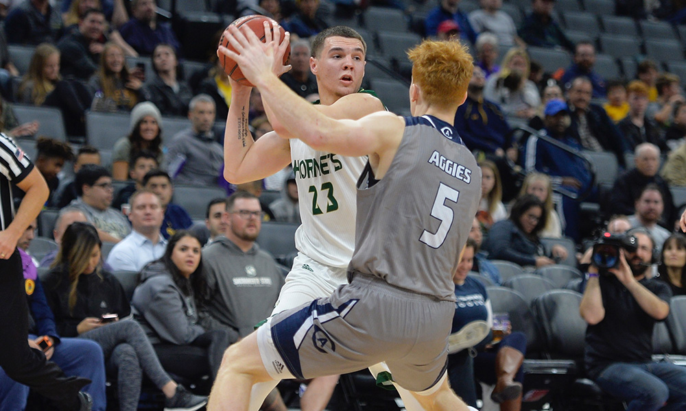 MEN'S HOOPS BEGINS FIRST BIG SKY ROAD TRIP ON THURSDAY AT MONTANA