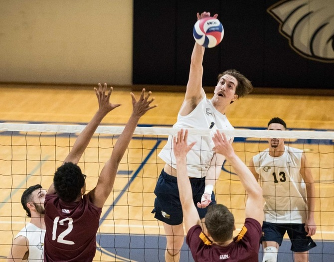 Men's Volleyball Picks up Pair of Non-Conference Victories