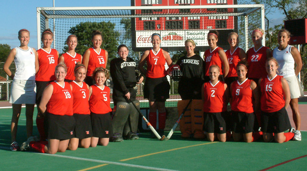 2003 Wittenberg Field Hockey