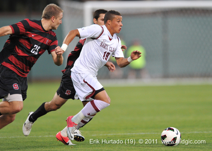 Erik Hurtado Earns WCC Men's Soccer's Top Weekly Honor