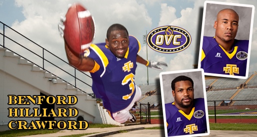 Benford, Hilliard named all-OVC; Crawford on all-newcomer squad