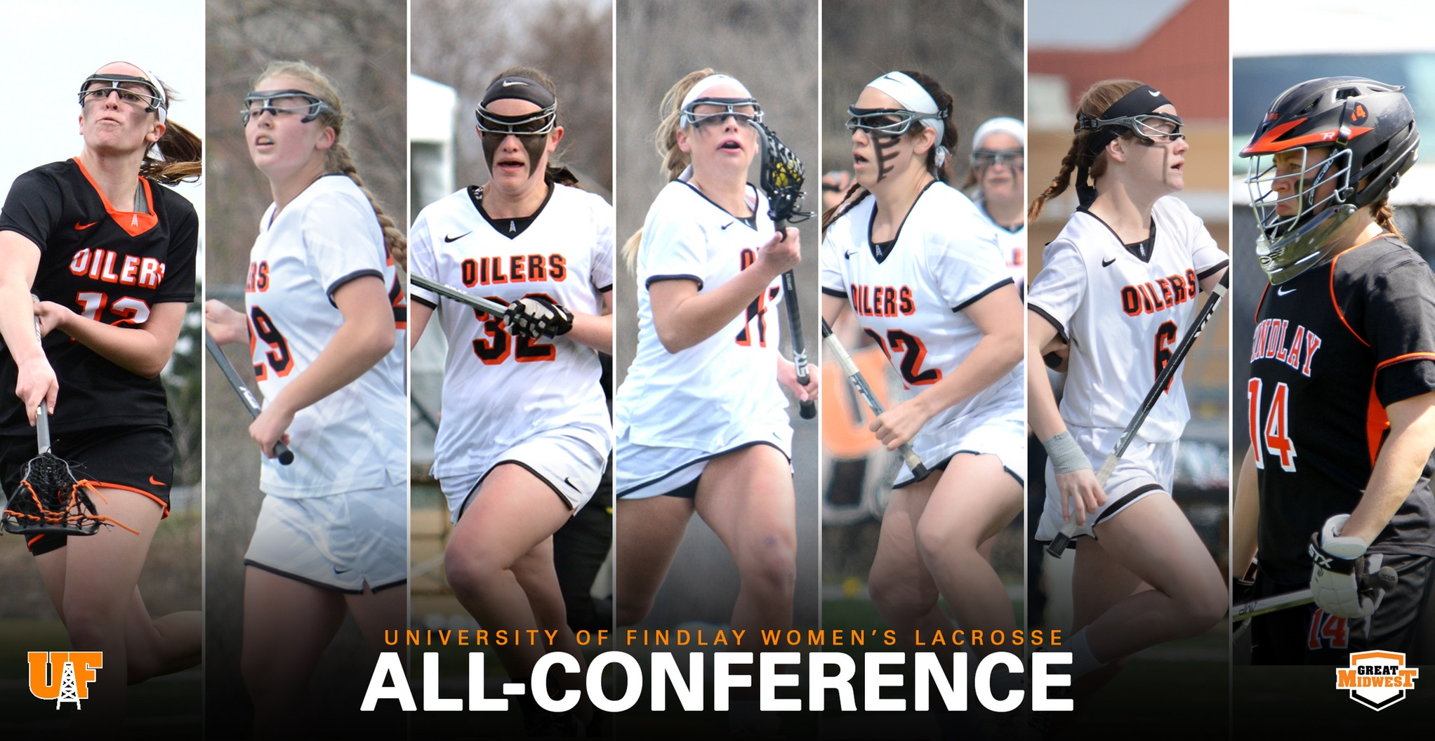 7 Oilers Earn All-Conference Honors
