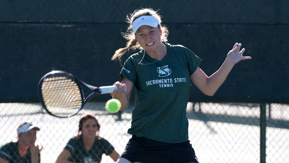 WOMEN'S TENNIS SHUT OUT BY No. 73 ARIZONA