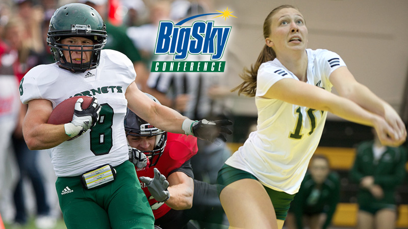 CROXDALE AND KIRBY NAMED BIG SKY SCHOLAR-ATHLETES OF THE YEAR