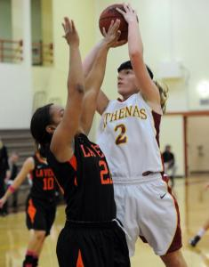 Redlands Leads Throughout To Defeat Athenas 78-65