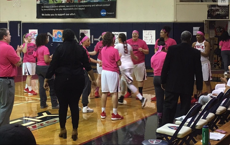 Breast Cancer Awareness Game: Warriors Fall to Holy Family at Home