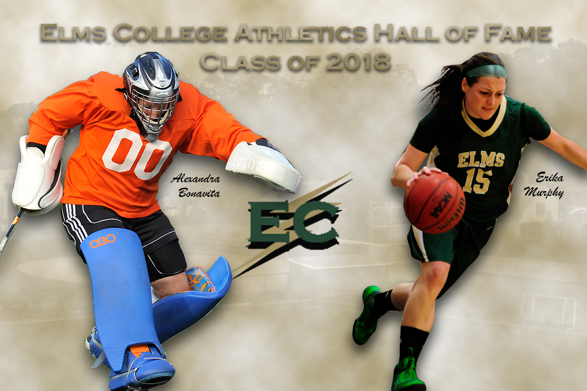 Bonavita '13, Murphy '13 Selected In Elms College Athletics Hall Of Fame Class Of 2018