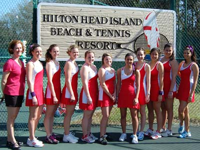 CUA enjoys annual spring break trip to Hilton Head