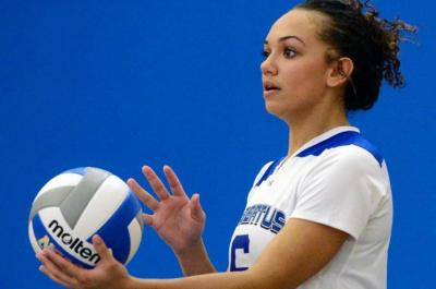 Women's Volleyball Falls in 3-1 Match vs. Lasell