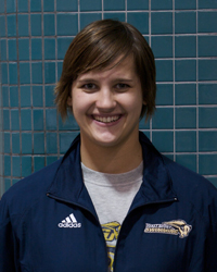 Women's Swimmer Carlisle Robinson Named Capital Athletic Conference Co-Female Swimmer of the Week