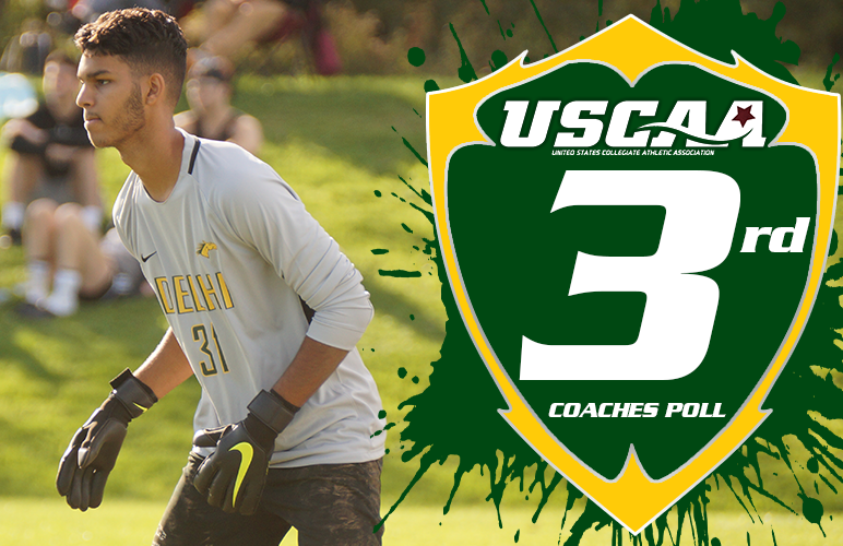 Men's Soccer Holds Down Three Spot in New USCAA Poll