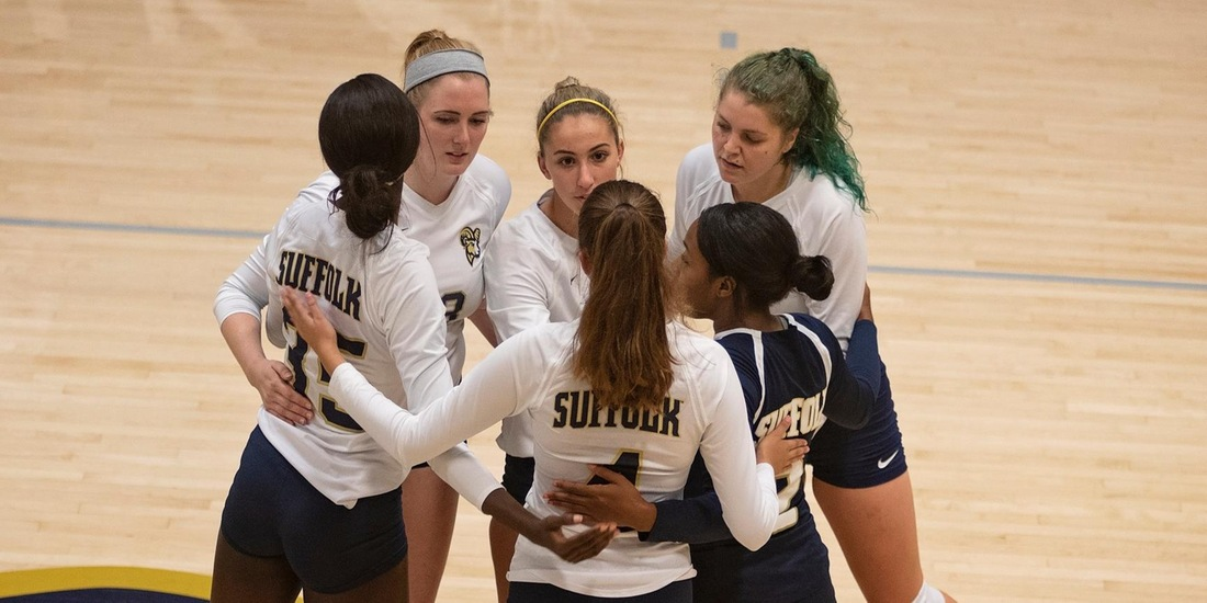 Volleyball Heads to No. 2 Johnson & Wales Thursday for GNAC Semis