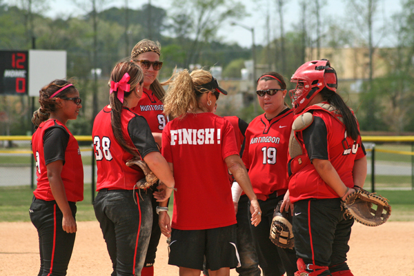 Huntingdon falls in finals of USA South Softball Tournament