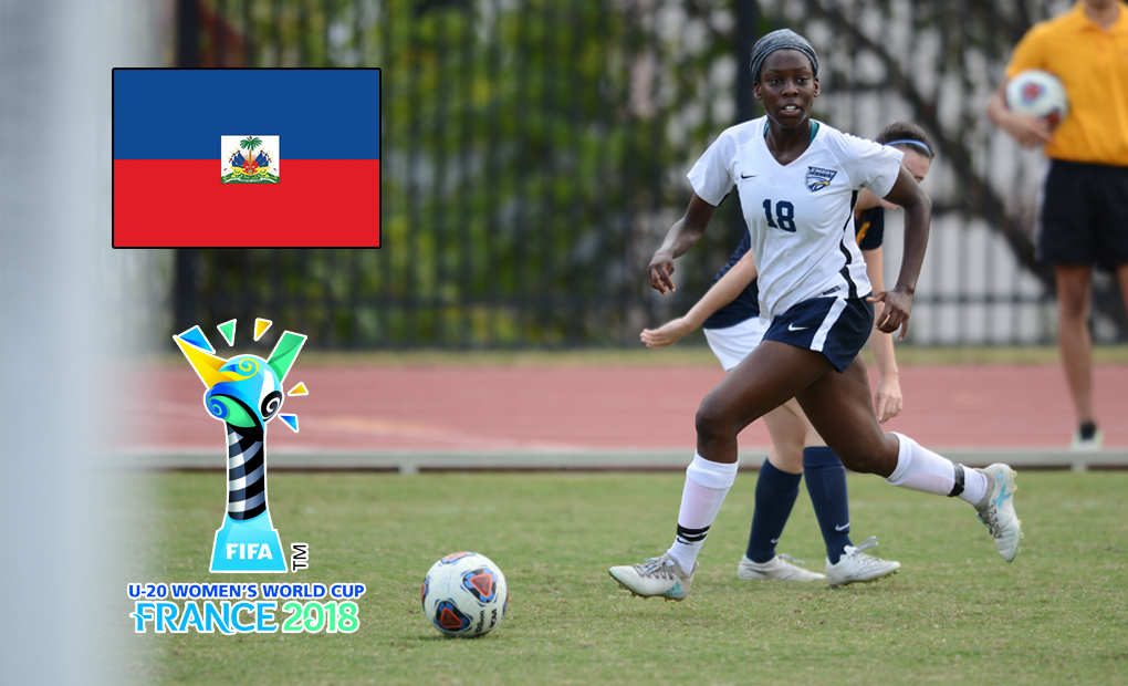 Danielle Darius to Represent Haiti at FIFA U-20 Women's World Cup in France