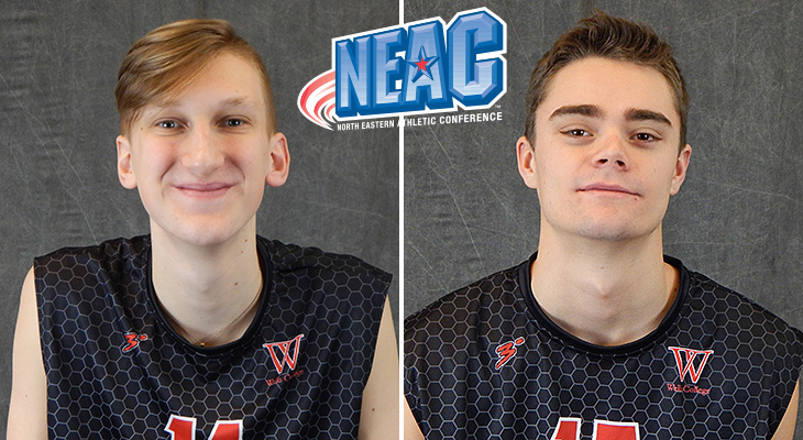 Wells Duo Captures NEAC Weekly Honors