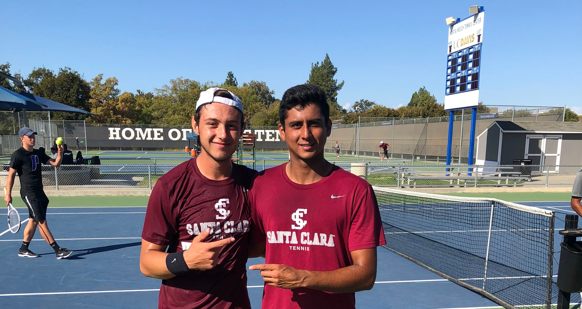 Men's Tennis Collects Doubles Championship at Aggie Invitational