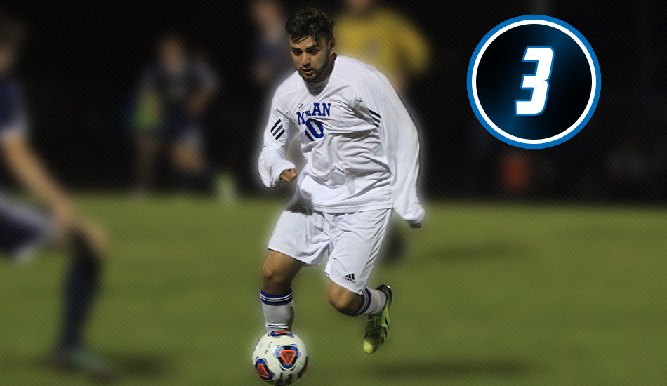 #3 Moment of the Year - Alonso Fragoso becomes all-time leading scorer for Marian men's soccer