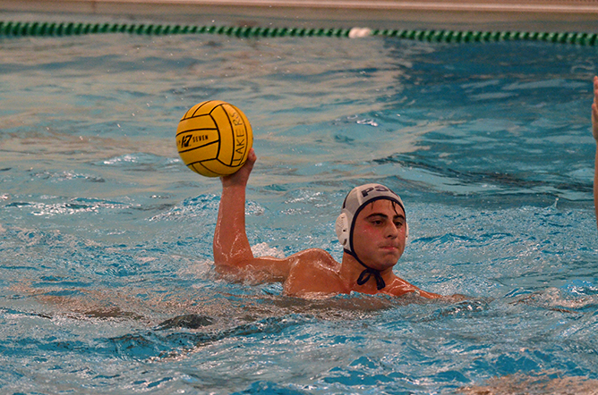 Men's Water Polo Win Opening Match
