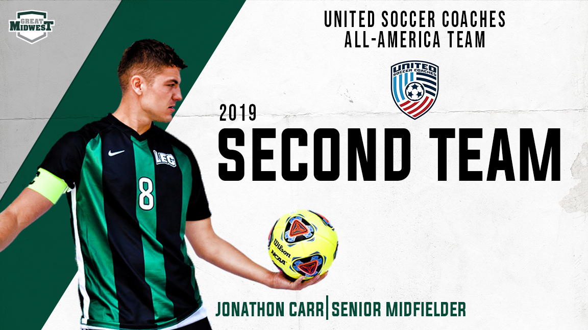 Carr named to United Soccer Coaches All-America Team