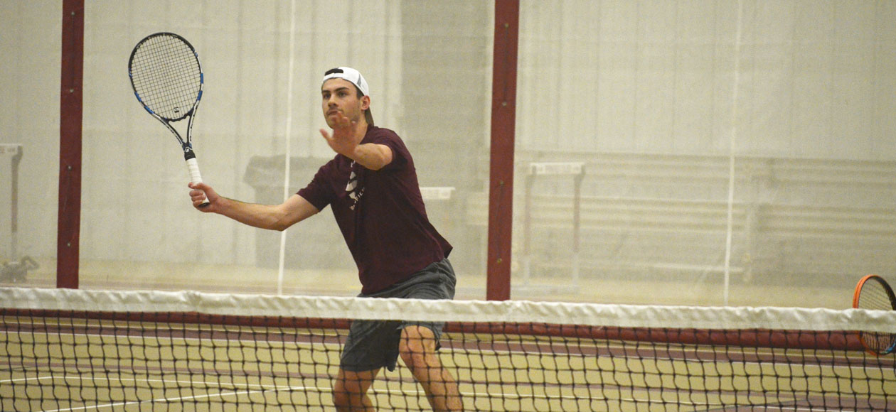 Men's Tennis Continues To Roll With 9-0 Win Over Western Connecticut