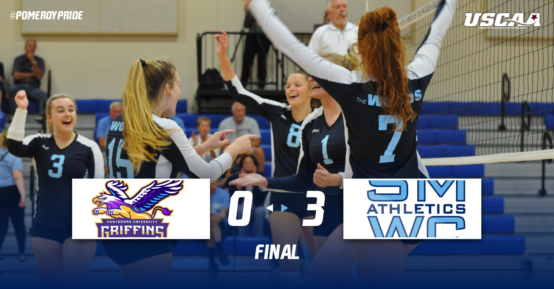 Kinney Get A Win? Alspach We Can; SMWC WoodBURNS Fontbonne 3-0