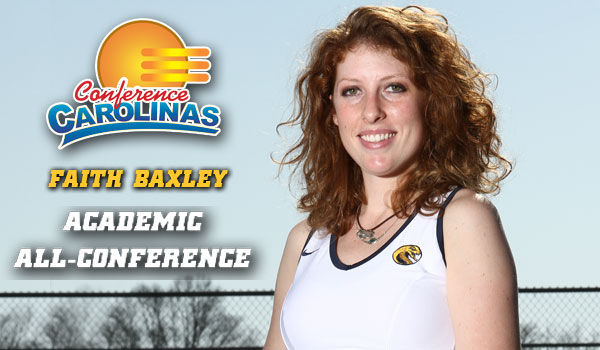 Baxley Named Academic All-Conference