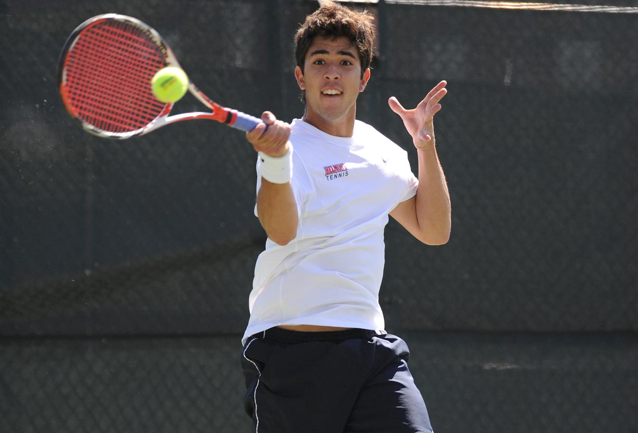 Bruno Matos Gallery: Men's Tennis Falls On The Road To Chattanooga 4-3