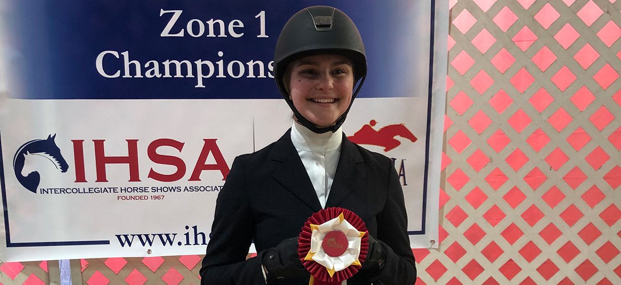 Equestrian Shines At Zones; Jarosiewicz Qualifies For Nationals