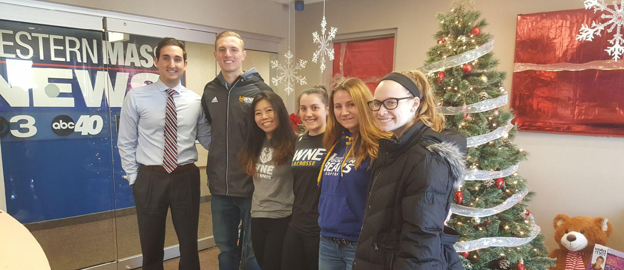 Members of Western New England SAAC Featured on Western Mass News