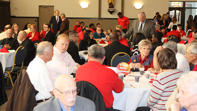 The 2014-15 YSU Men's Basketball Tipoff Banquet