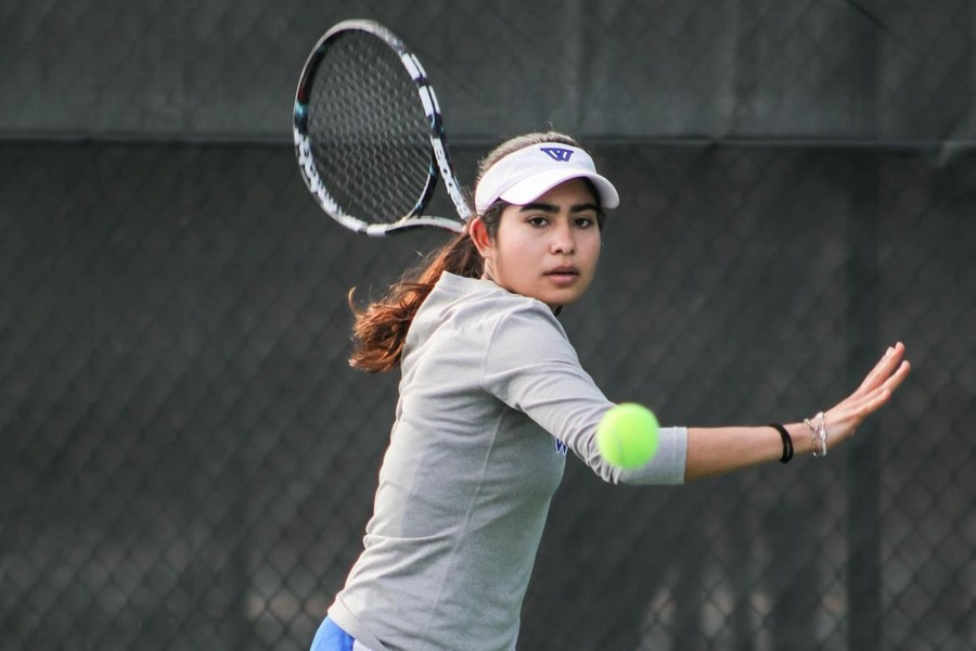Wellesley Tennis Sweeps Wis -Oshkosh at USTA National Campus