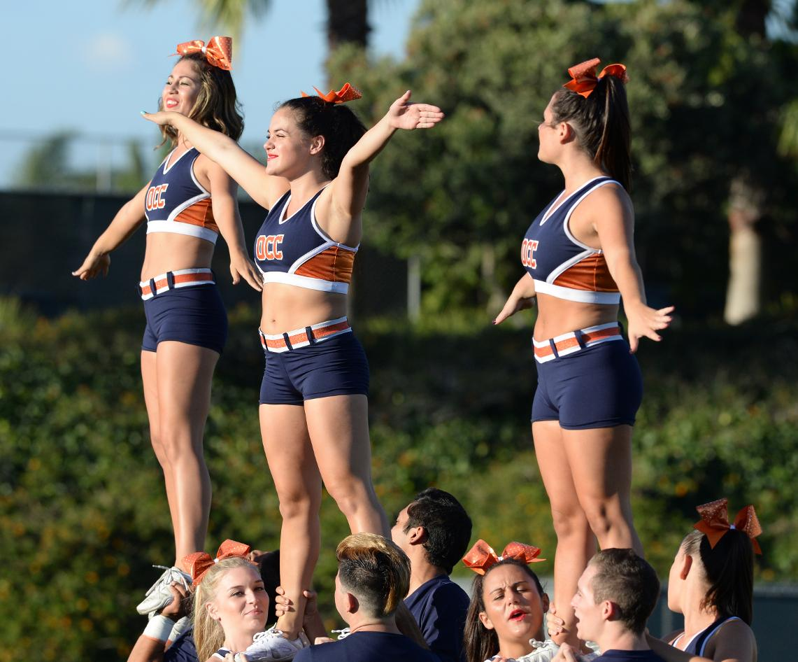 OCC Cheerleading Auditions set for May 12-13