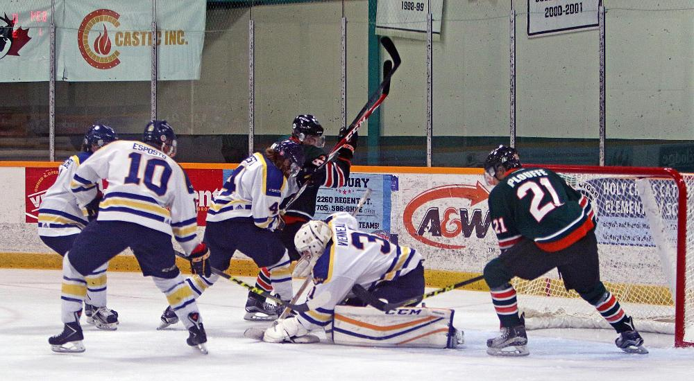 MHKY | Voyageurs Shutout by Gee Gee's 5-0