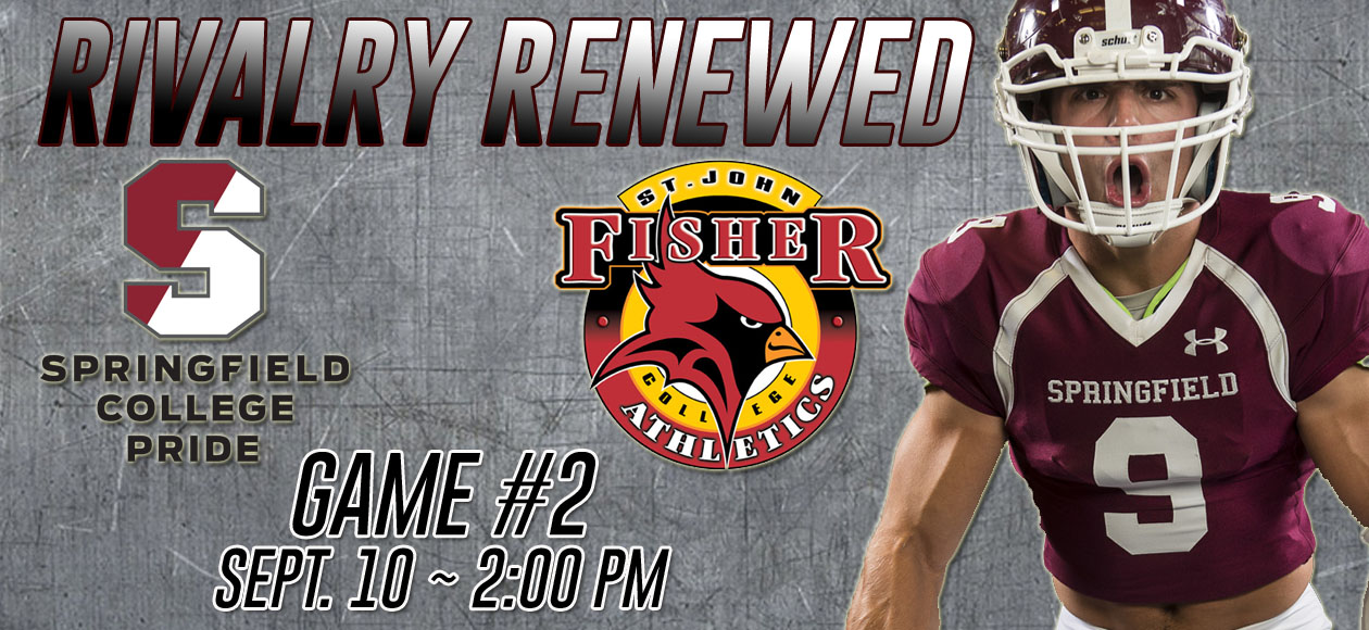 Football Continues Homestand Versus St. John Fisher On Saturday