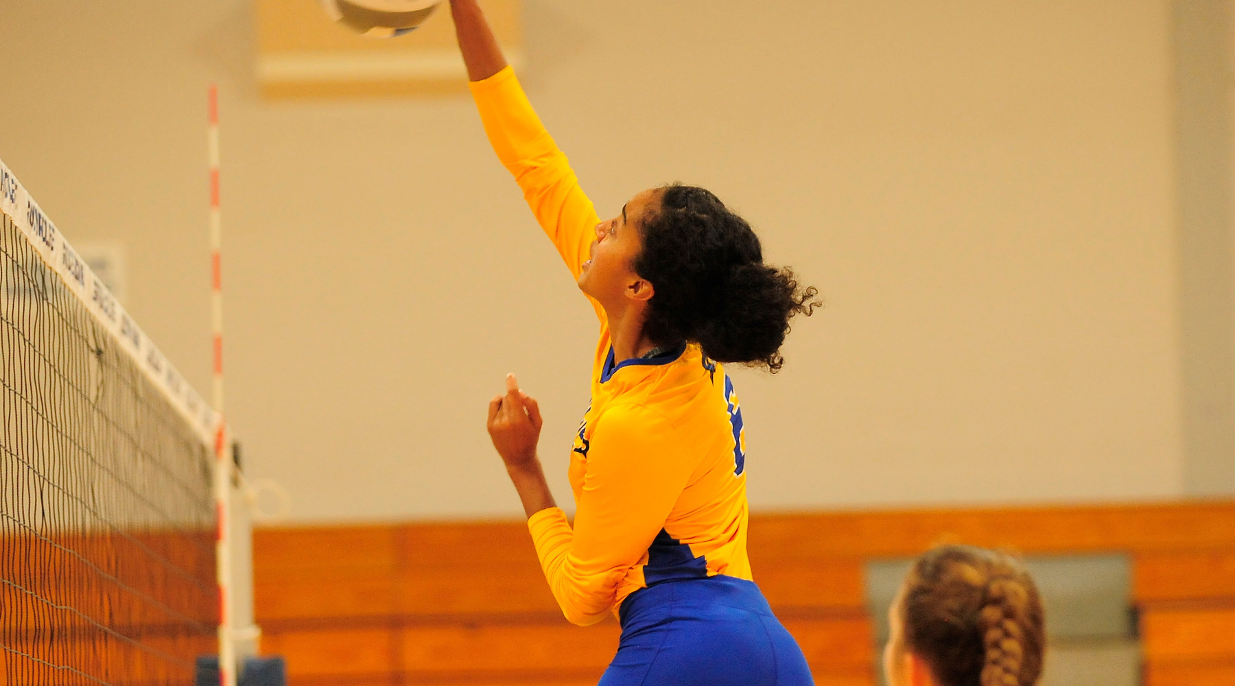Volleyball Knocks Off Lehman, Falls to Eastern Mennonite Saturday