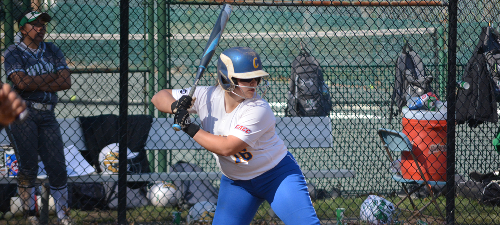 Late Offensive Surge In Game One Lifts Softball To Doubleheader Split At Holy Family