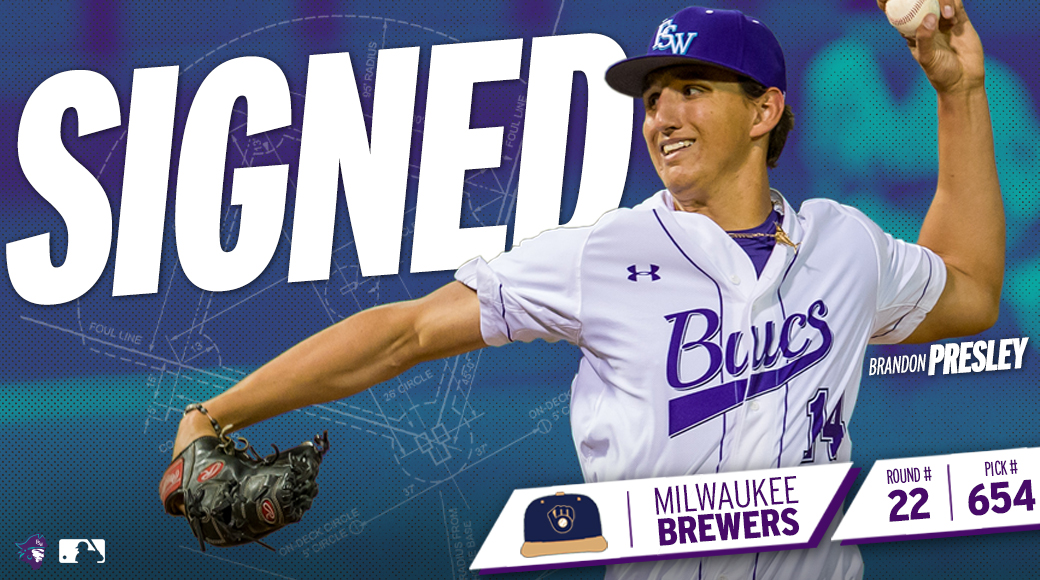 SIGNED | Presley Inks Deal With Milwaukee Brewers